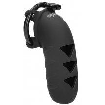 Черный мужской пояс верности Chastity Model 09