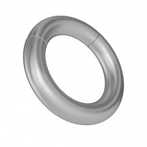 Серебристое магнитное кольцо-утяжелитель № 3