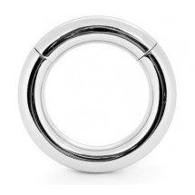 Серебристое малое эрекционное кольцо на магнитах