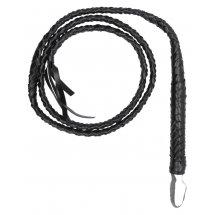 Черный витой кнут Twisted Whip
