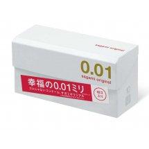 Супер тонкие презервативы Sagami Original 0.01 - 10 шт.
