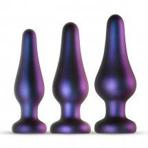Набор из 3 фиолетовых анальных пробок Comets Butt Plug Set