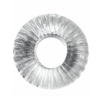 Прозрачное толстое эрекционное кольцо