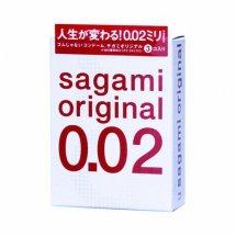 Ультратонкие презервативы Sagami Original - 3 шт.