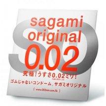 Ультратонкий презерватив Sagami Original - 1 шт.