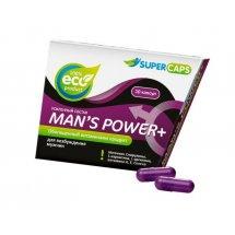 Капсулы для мужчин Man's Power+ с гранулированным семенем - 10 капсул (0,35 гр.)